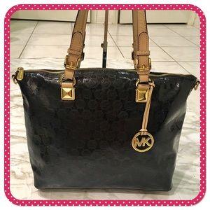 💝 MICHAEL KORS💝 black PVC tote